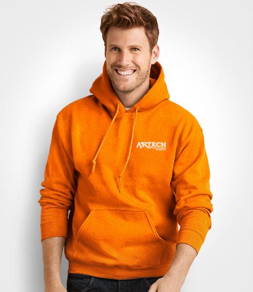 fdf7c6a60 Printed Hoodie sweatshirt, Gildan hooded sweat, screen printing apparel,  Artech Promotional wear