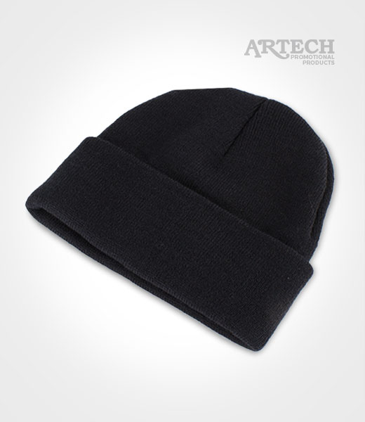 2dfb36ba3c2 Winter Hat - Long Knit Toque + Custom Embroidered logo