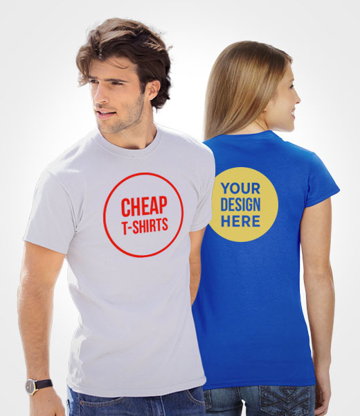 Low Cost Custom Printed T Shirts