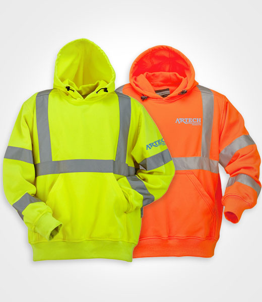 6459ae739 Safety hoodies, high visibility wear, workwear orillia, workwear barrie,  peterborough, collingwood