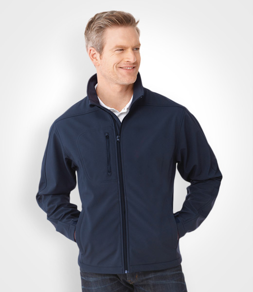 Men's Softshell Jacket, promotional apparel, custom embroidery, artech  promotional products & wear,