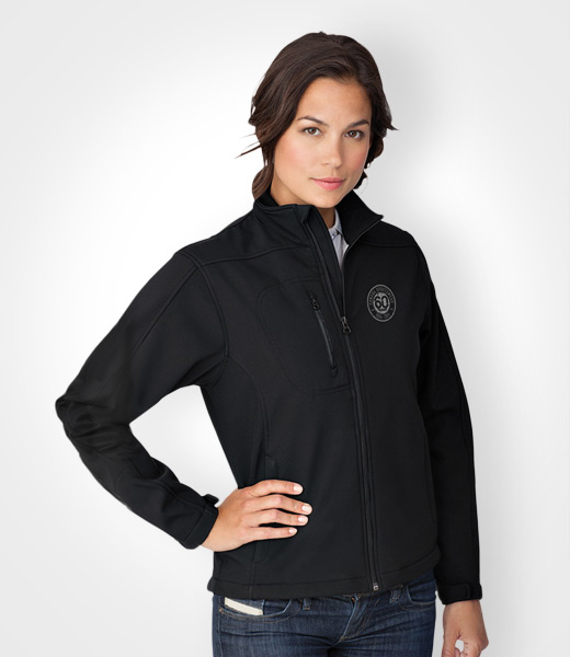 Women's Softshell Jacket, promotional apparel, custom embroidery, artech  promotional products & wear,